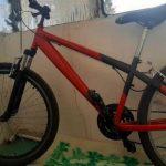 В Никополе просят помощи в поиске украденного велосипеда